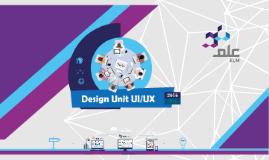 Design Unit 2015/2016