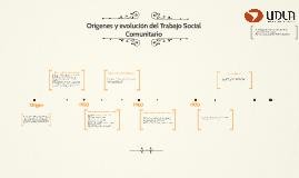 Copy of Orígenes y evolución del Trabajo Social Comunitario