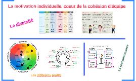 La motivation individuelle, coeur de la cohésion d'équipe