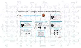 Órdenes de Trabajo - Producción en Proceso