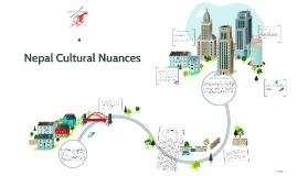 Nepal Cultural Nuances
