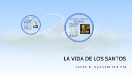 Santa Lucía fue una mártir cristiana, que padeció el martiri