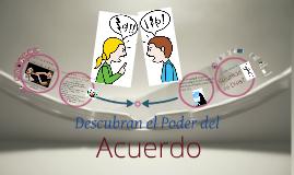 Copy of Descubran el Poder del Comun Acuerdo