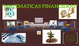 MATEMATICAS FINANCIERAS.