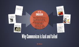 Why Communism is bad and failed