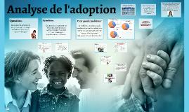 Analyse de l'adoption