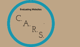 Intro to C.A.R.S. Website Evaluation