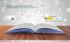 Acreditación Certificados de Profesionalidad online