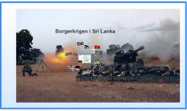 Borgerkrigen i Sri Lanka