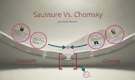 Copy of Saussure vs. Chomsky