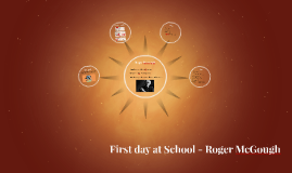 First day at School -  Roger McGough