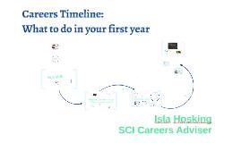 2018-19: MTH Yr 1: Careers Timeline
