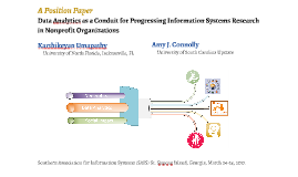 Data Analytics as a Conduit for Progressing Information Syst