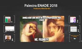 Curso preparatório ENADE 2018