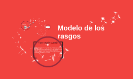 Copy of Modelo de los rasgos
