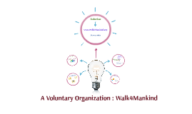 A Voluntary Organization : Walk4Mankind