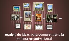 Cultura organizacional y los aportes desde la Antropología