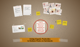 Using organic pesticides