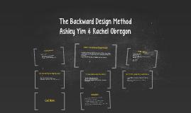 The Backward Design Method