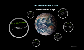 Earth and The Seasons