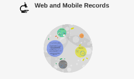 Web and Mobile Records