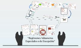 """""""Regímenes Aduaneros Especiales o de Excepción"""""""
