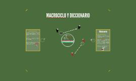 Macrociclo y Diccionario
