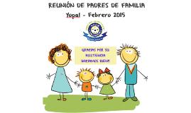 PRIMERA REUNION DE PADRES DE FAMILIA GIMNASIO INFANTIL MODER