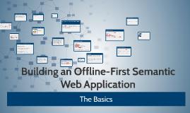 Offline-First Semantic Web App