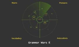 Grammar Wars E
