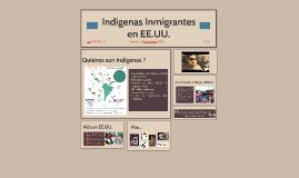 Indiginas Imigrantes en EE.UU.