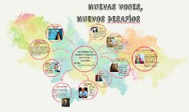 Copy of NUEVAS VOCES, NUEVOS DESAFÌOS