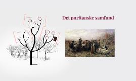Det puritanske samfund