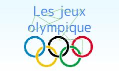 les jeux olympique