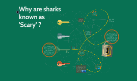 Why are sharks known as 'Scary'