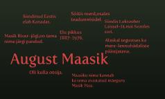 August Maastik