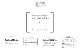 Coherentieanalyse