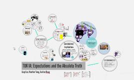 Theory of Knowledge IA Presentation