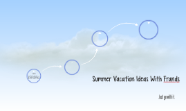 Summer Vacation Ideas