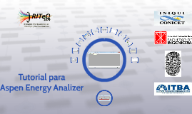 Tutorial Aspen Energy Analizer