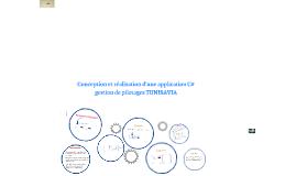 Copy of Copy of Copy of Copy of Copy of Conception et réalisation d'une application C# d'implantatio
