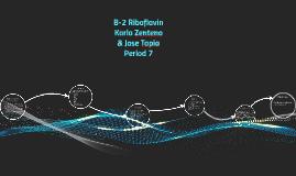 B-2 Riboflavin