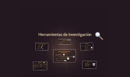 Herramientas de investigación