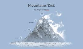 Mountains Task