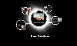 Rural Rotations