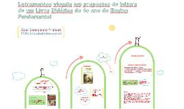 Letramentos visuais em propostas de leitura de um Livro Didático do 1o ano do Ensino Fundamental: uma análise, muitas...