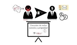 Creación de valor y significado, Autoría, Propiedad'