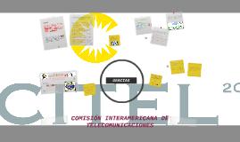 CITEL (COMISIÓN INTERAMERICANA DE TELECOMUNICACIONES