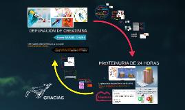 DEPURACION DE CREATININA & PROTEINURIA DE 24 HORAS