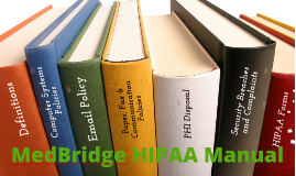 MedBridge HIPAA Manual